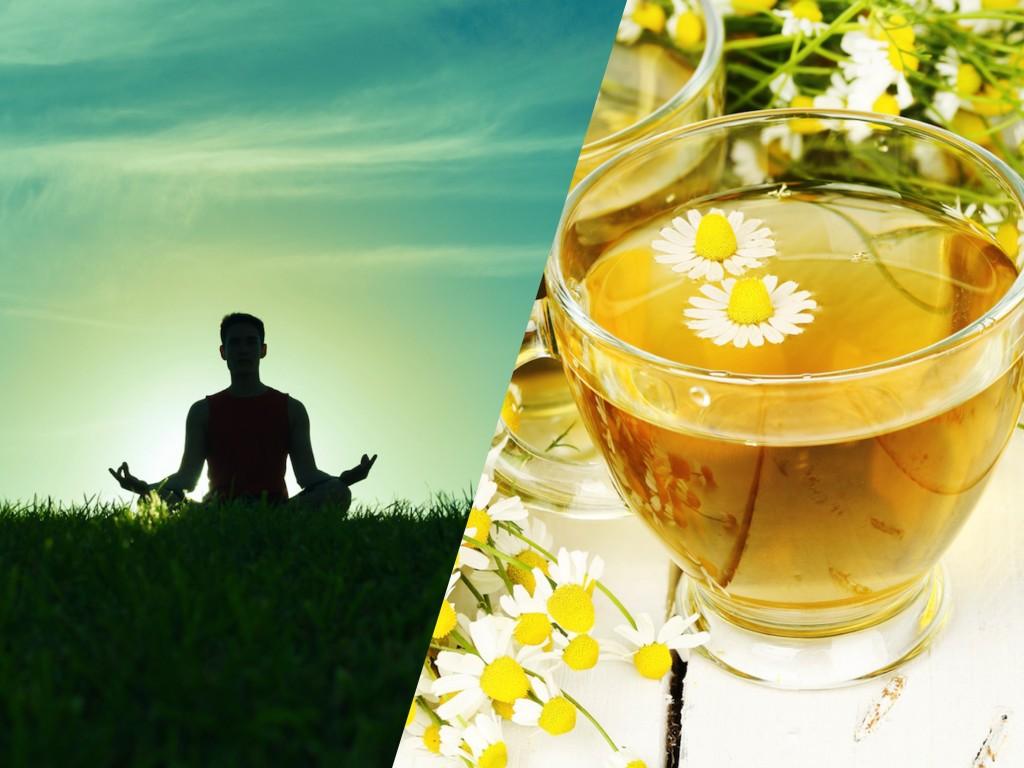 心を整える瞑想やハーブティ