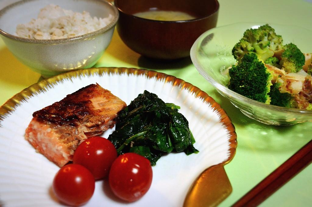 気持ちの浮き沈みが激しいときの鮭のムニエル定食1