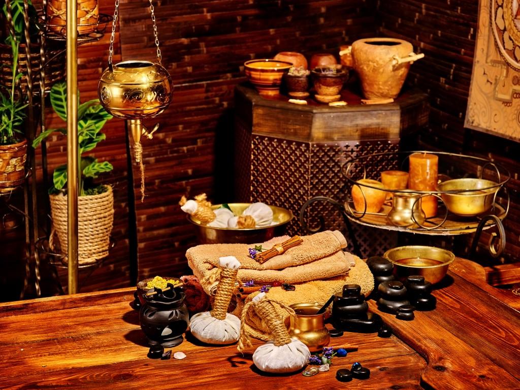 インドの伝統医学アーユルヴェーダの道具