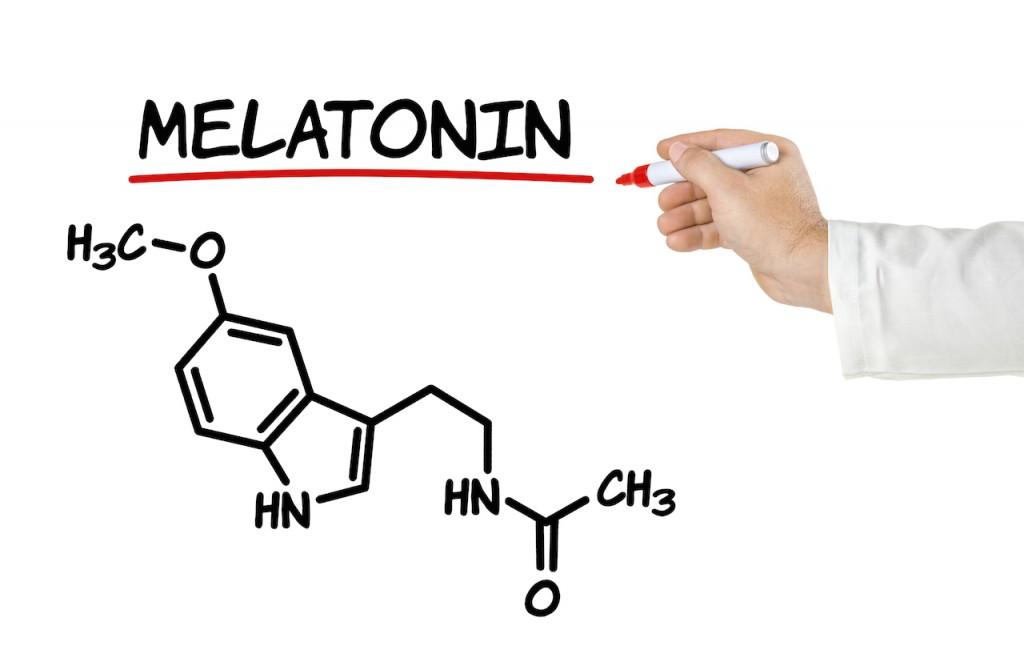 メラトニンの化学式