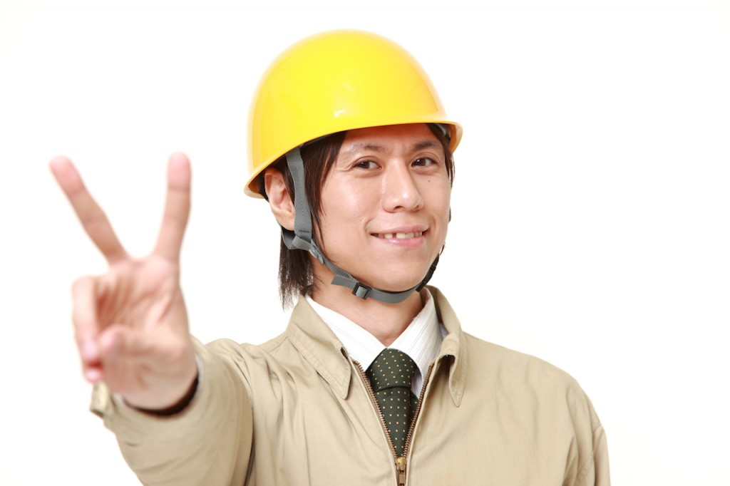 解離性障害を改善し元気に働く男性