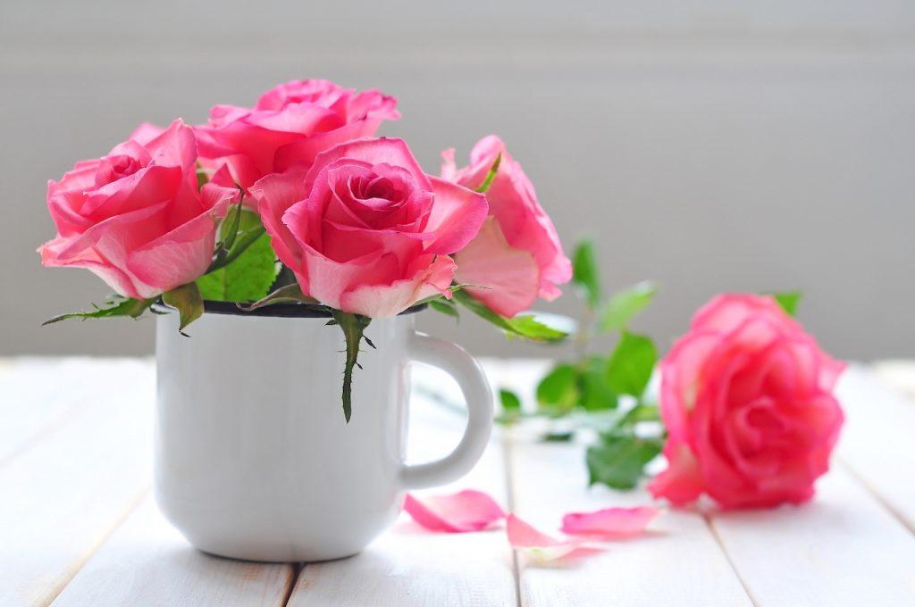 花を飾ってみませんか