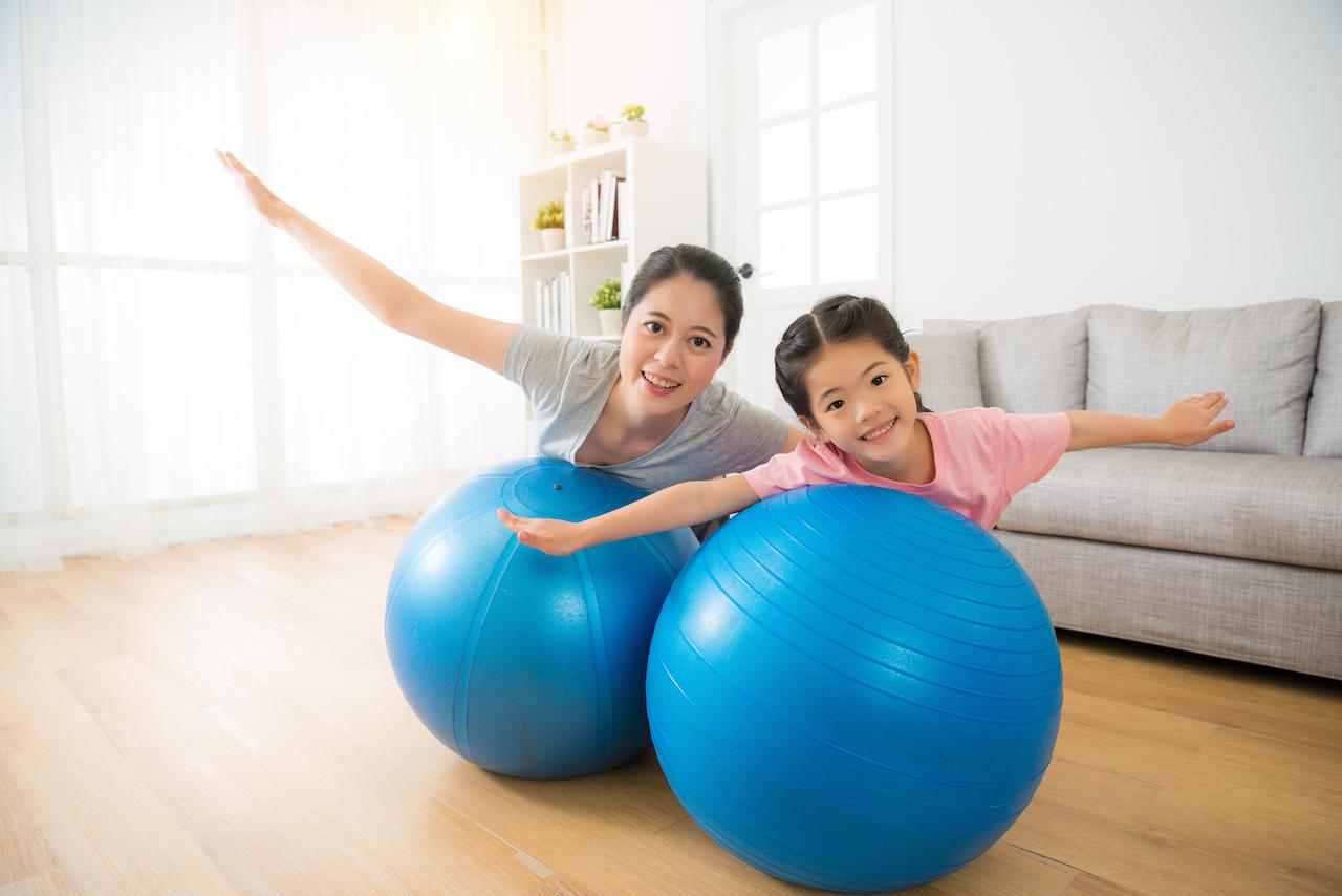 「運動」とメンタルヘルス「心のための運動学」 心に働く運動:バランスボール